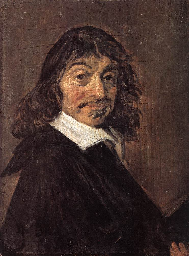 Rene Descartes 1649 | Frans Hals | Oil Painting