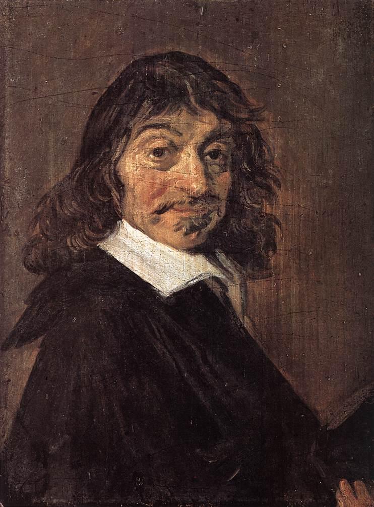 Rene Descartes 1649 | Frans Hals | Oil Painting