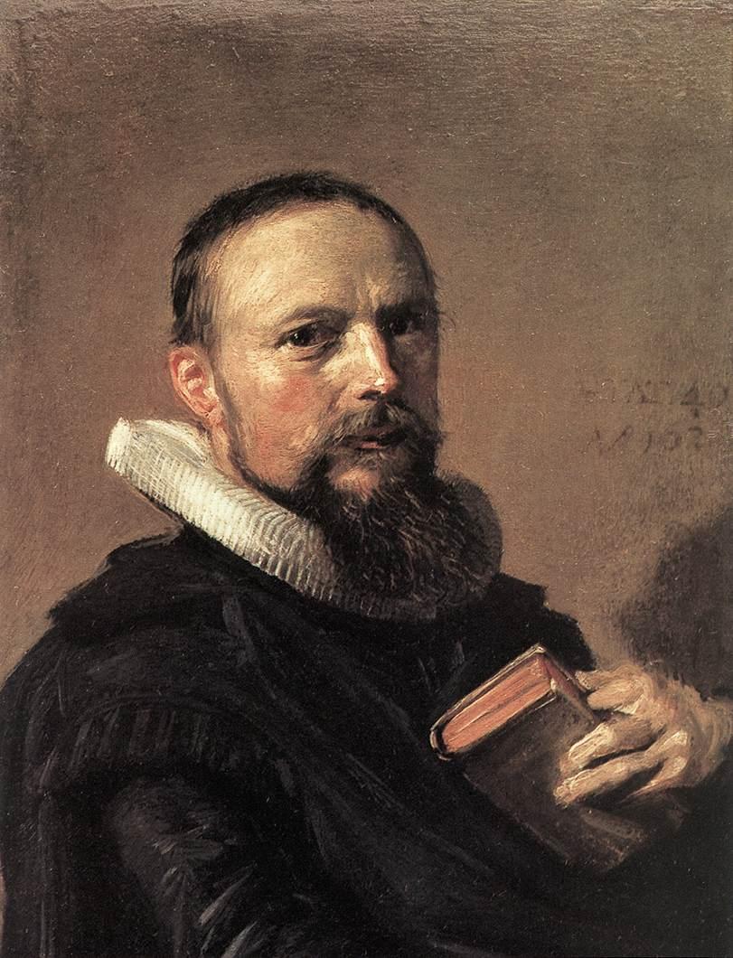 Samuel Ampzing 1630 | Frans Hals | Oil Painting