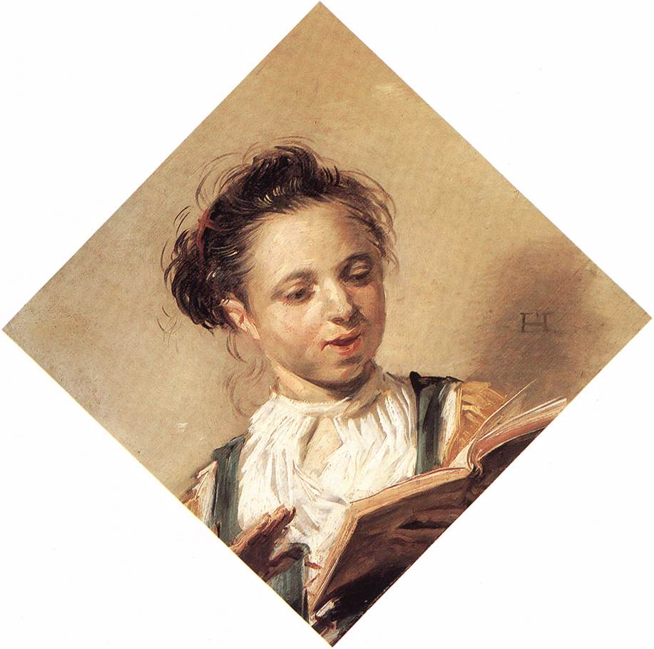 Singing Girl 1626-30 | Frans Hals | Oil Painting