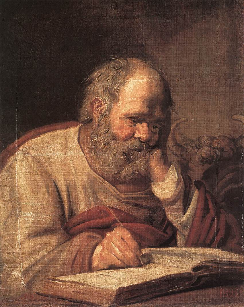 St Luke 1625 | Frans Hals | Oil Painting