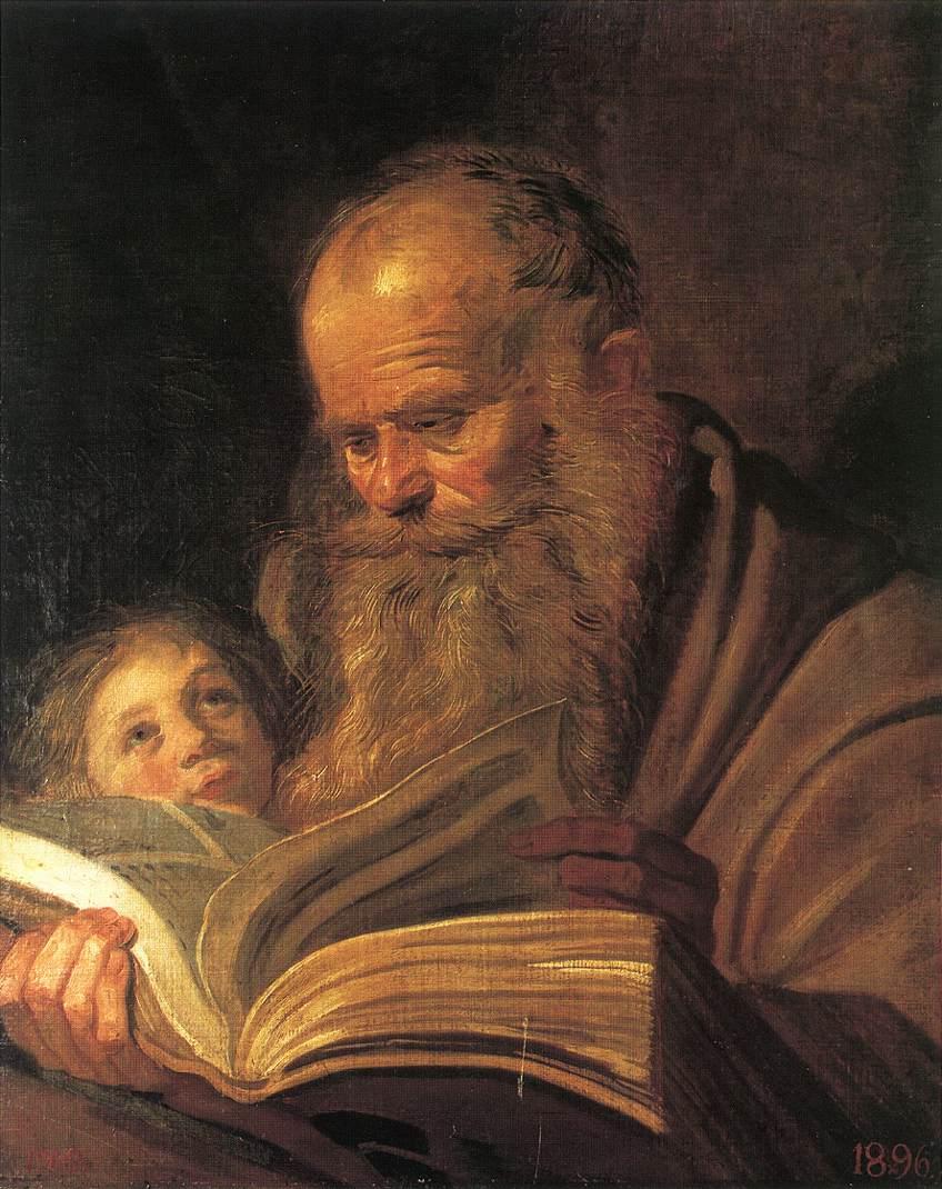 St Matthew 1625 | Frans Hals | Oil Painting