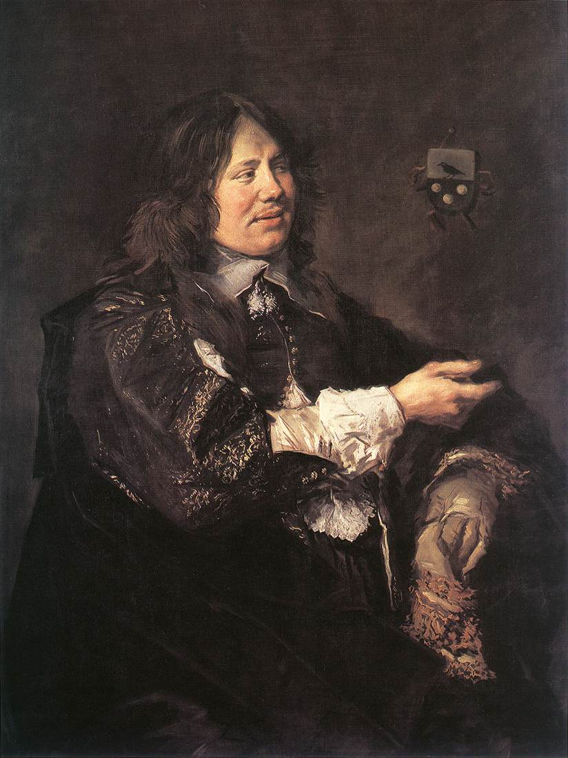 Stephanus Geraerdts 1650-52 | Frans Hals | Oil Painting