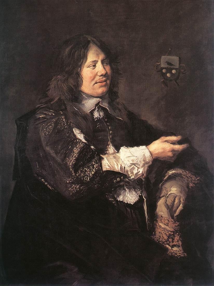 Stephanus Geraerdts 1650-52 | Frans Hals | Oil Painting