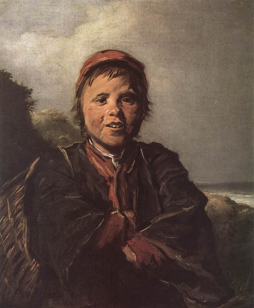 The Fisher Boy 1630-32 | Frans Hals | Oil Painting