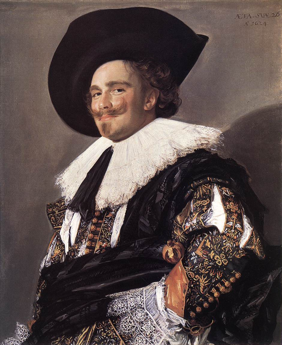 The Laughing Cavalier 1624 | Frans Hals | Oil Painting