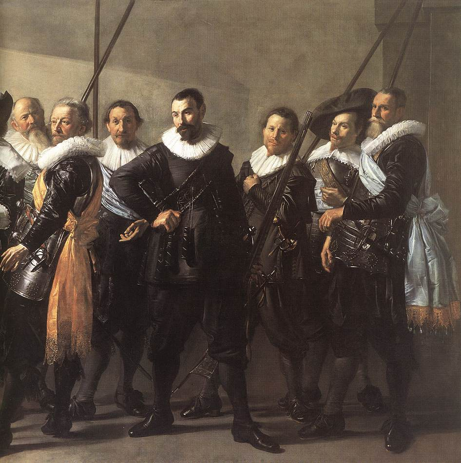 The Meagre Company (Detail) 1 1633-37 | Frans Hals | Oil Painting