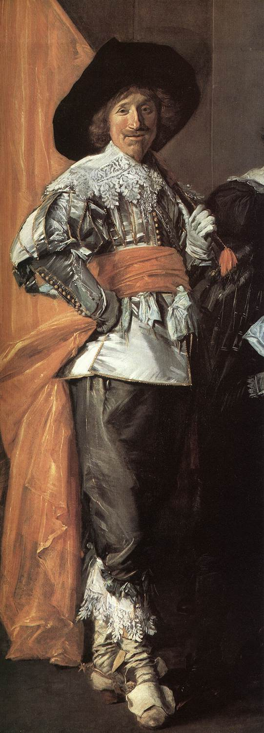 The Meagre Company (Detail) 2 1633-37 | Frans Hals | Oil Painting