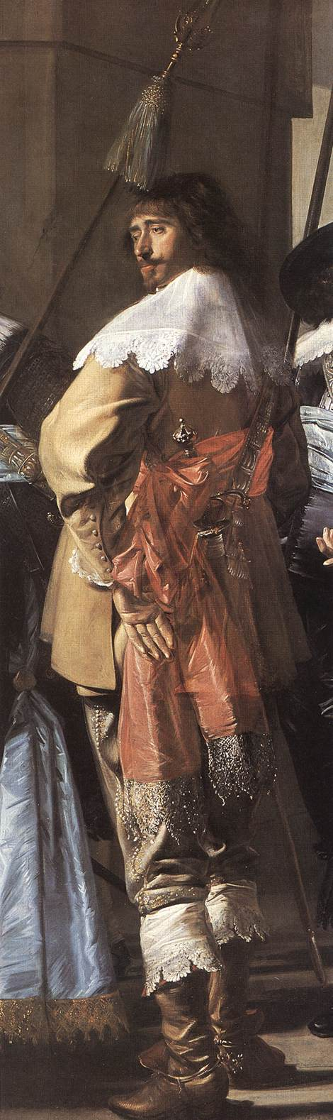 The Meagre Company (Detail) 3 1633-37 | Frans Hals | Oil Painting