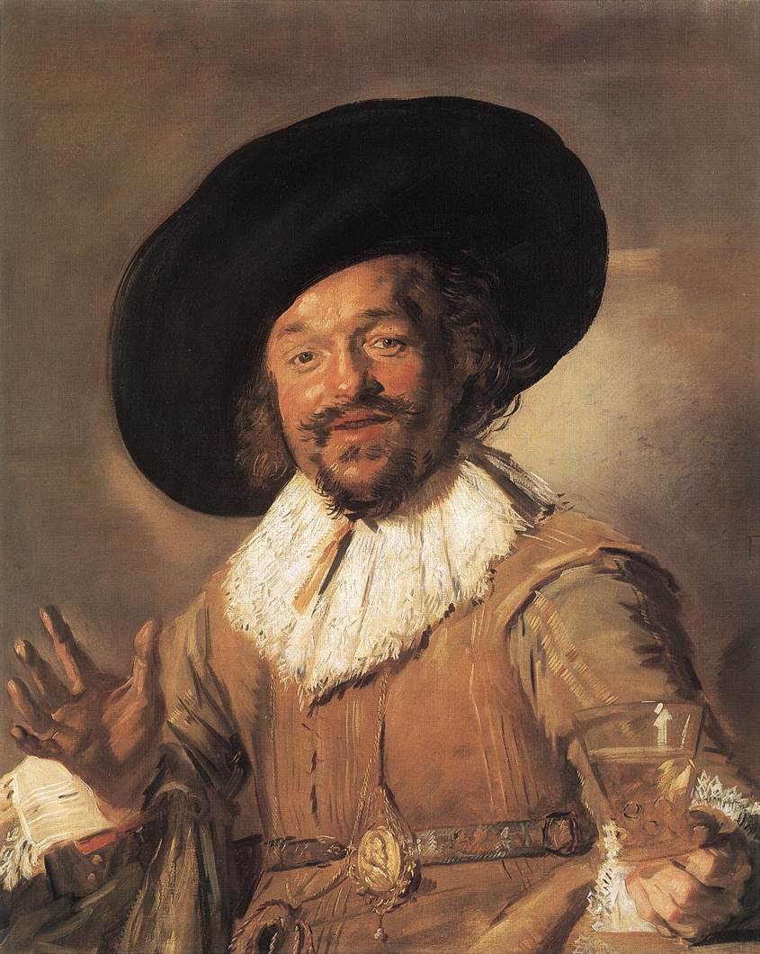 The Merry Drinker 1628-30 | Frans Hals | Oil Painting