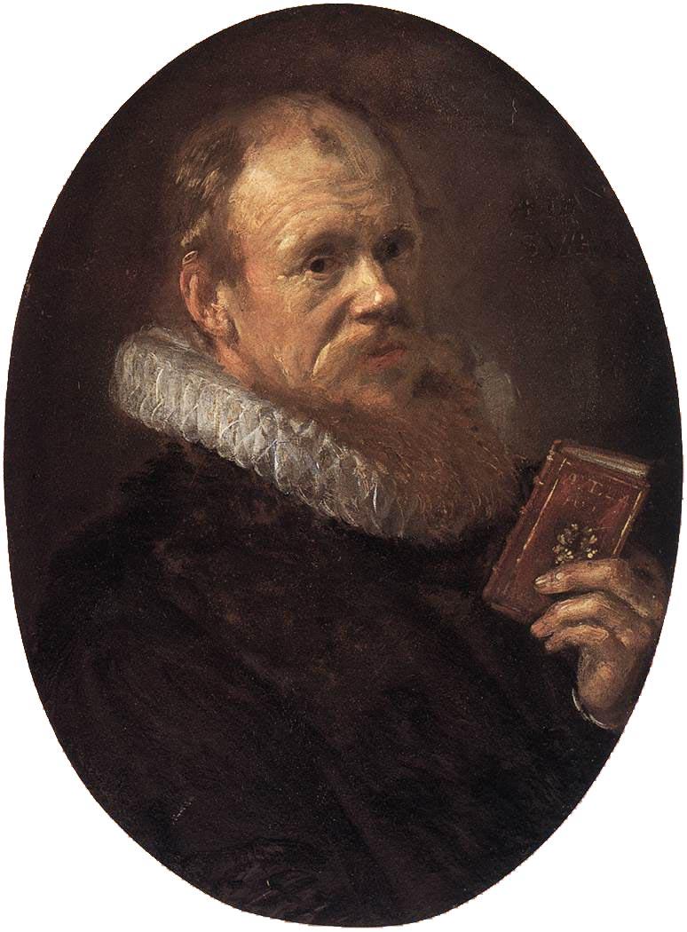 Theodorus Schrevelius 1617 | Frans Hals | Oil Painting