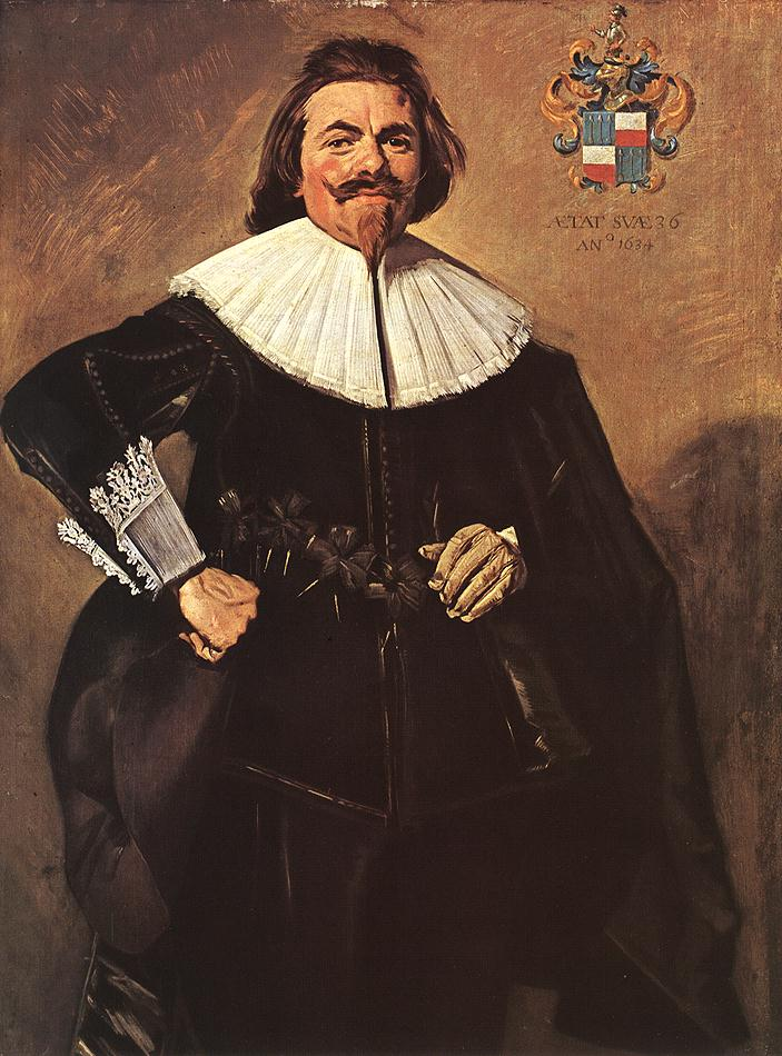 Tieleman Roosterman 1634 | Frans Hals | Oil Painting