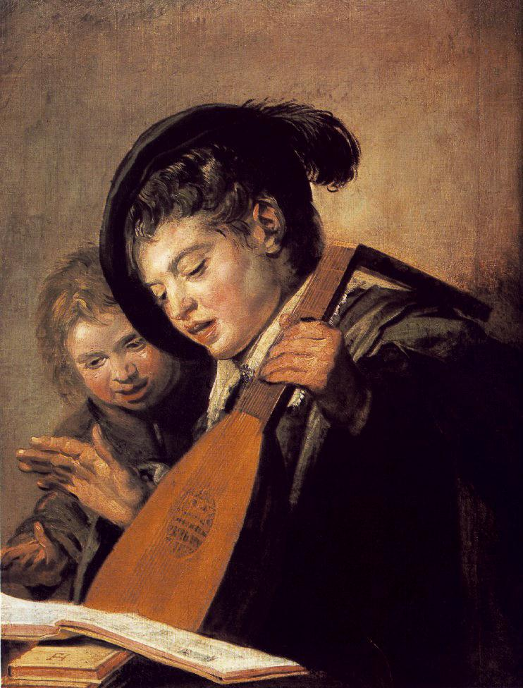 Two Boys Singing 1625 | Frans Hals | Oil Painting