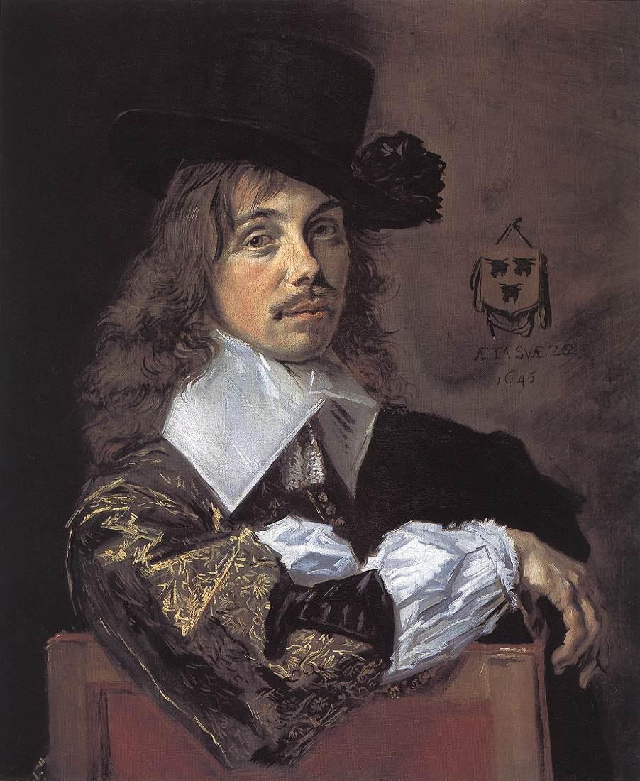 Willem Coenraetsz Coymans 1645 | Frans Hals | Oil Painting