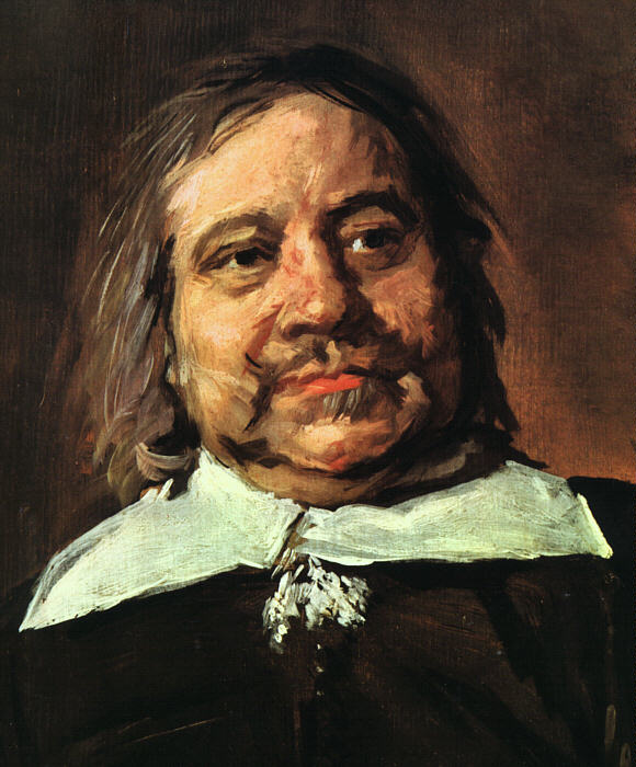 Willem Croes (Detail) 1662-66 | Frans Hals | Oil Painting