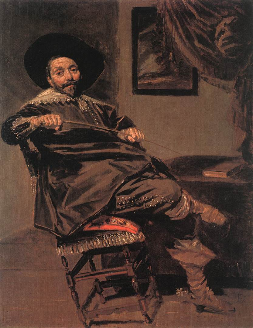 Willem Van Heythuysen 1638 | Frans Hals | Oil Painting