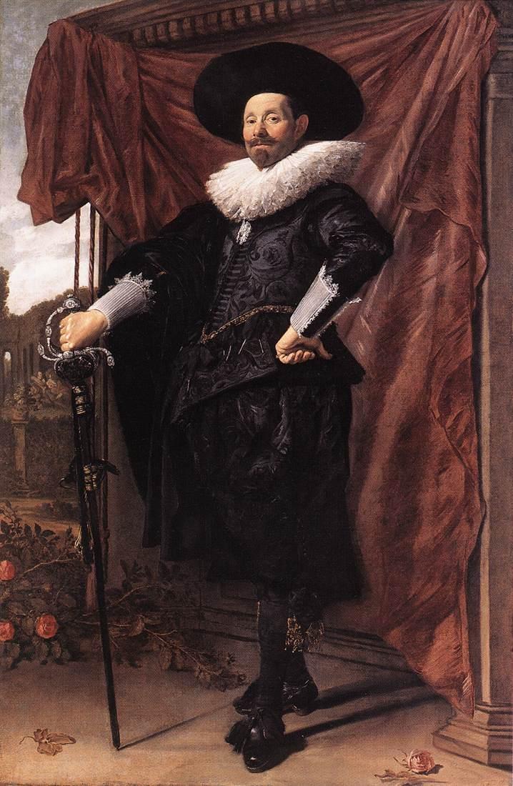 Willem Van Heythuyzen 1625 | Frans Hals | Oil Painting
