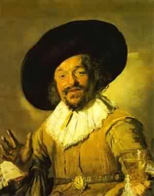 A Young Man With A Glove 1650 | Frans Hals | Oil Painting