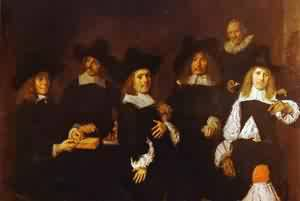 Tyman Oosdorp 1656 | Frans Hals | Oil Painting