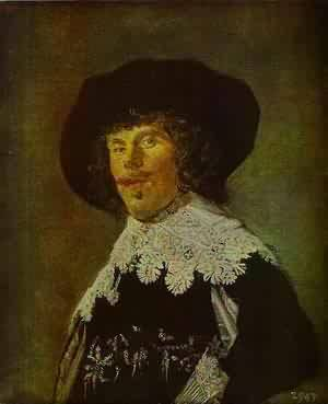 Portrait Of An Officer 1916 | Frans Hals | Oil Painting
