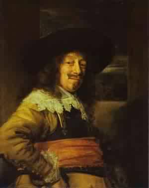 Portrait Of Young Man 1645 | Frans Hals | Oil Painting