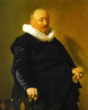 Portrait Of Willem Van Heythuysen 1625-30 | Frans Hals | Oil Painting