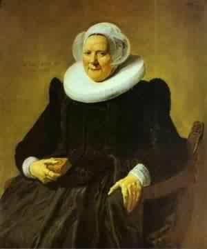 Portrait Of The Painter Jan Asselin | Frans Hals | Oil Painting