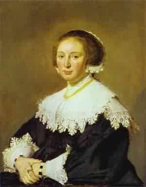 Portrait Of Paulus Van Beresteyn 1629 | Frans Hals | Oil Painting