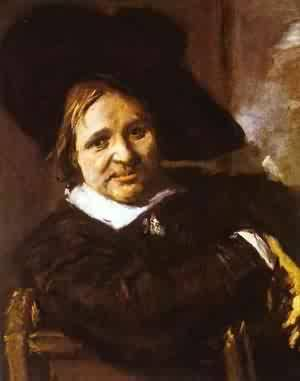 Portrait Of An Officer 1640 | Frans Hals | Oil Painting