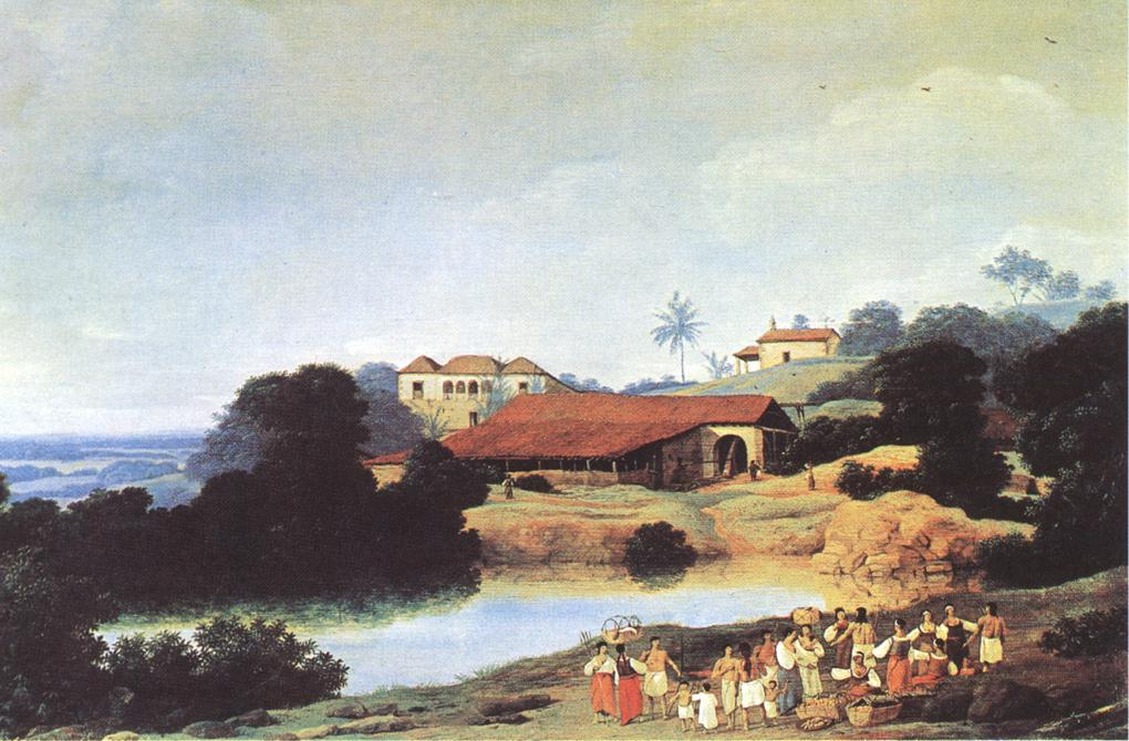 Hacienda 1652 | Frans Post | Oil Painting