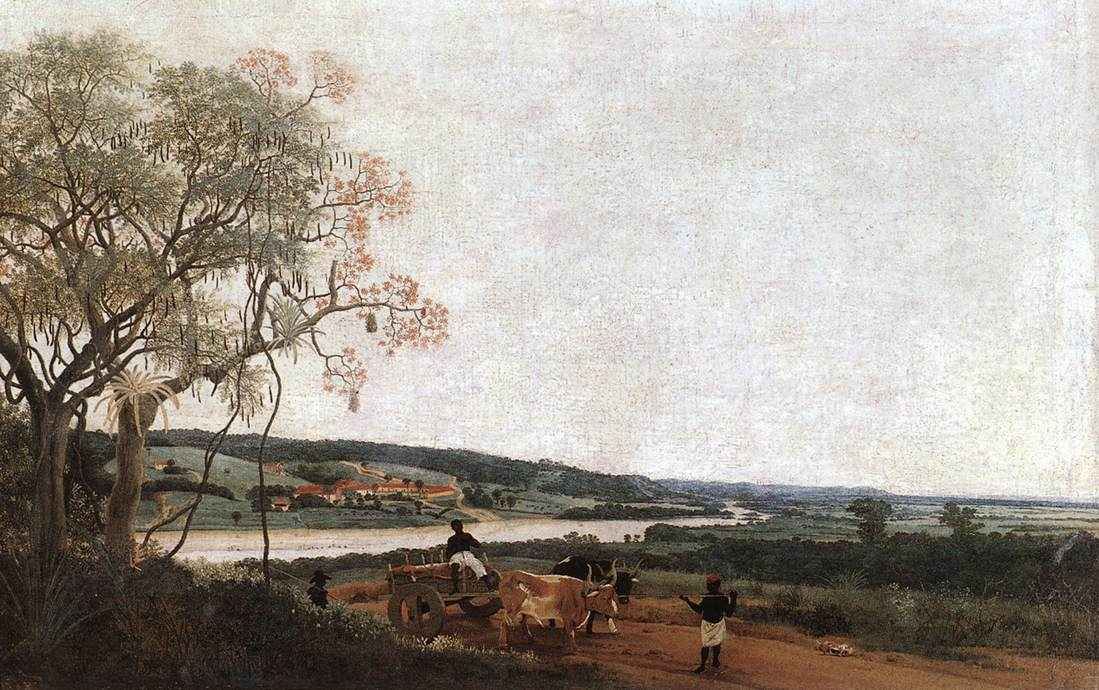 The Ox Cart 1638 | Frans Post | Oil Painting
