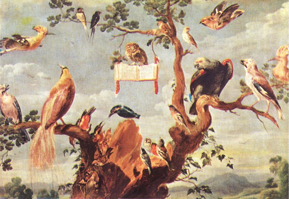Concert Of Birds Detail | Frans Snyders | Oil Painting