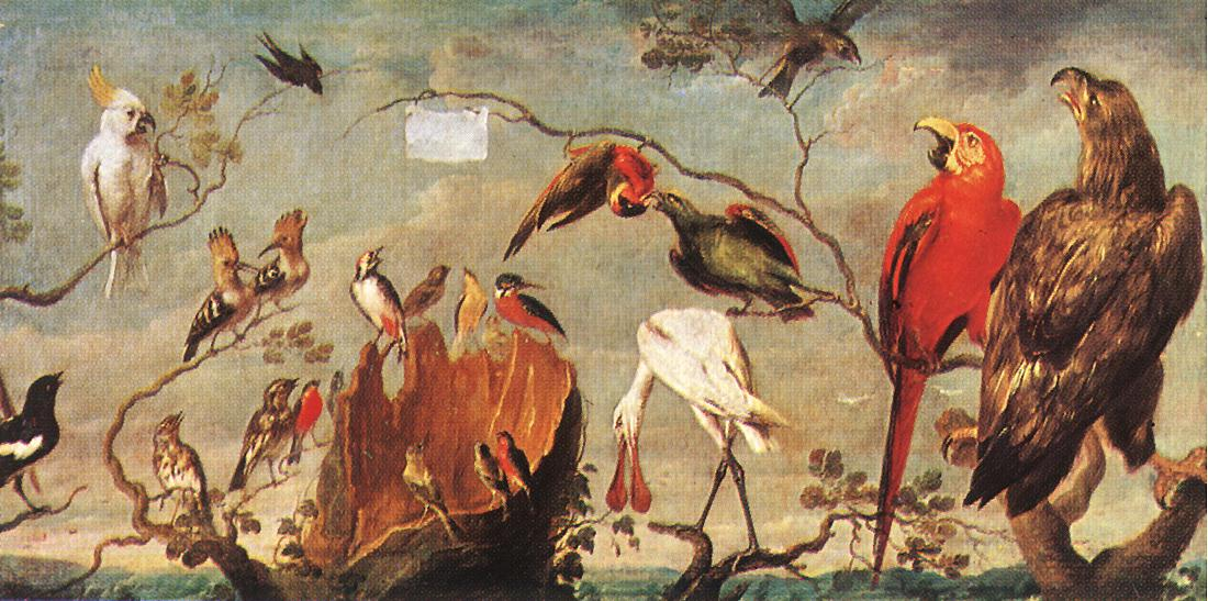 Concert Of Birds | Frans Snyders | Oil Painting