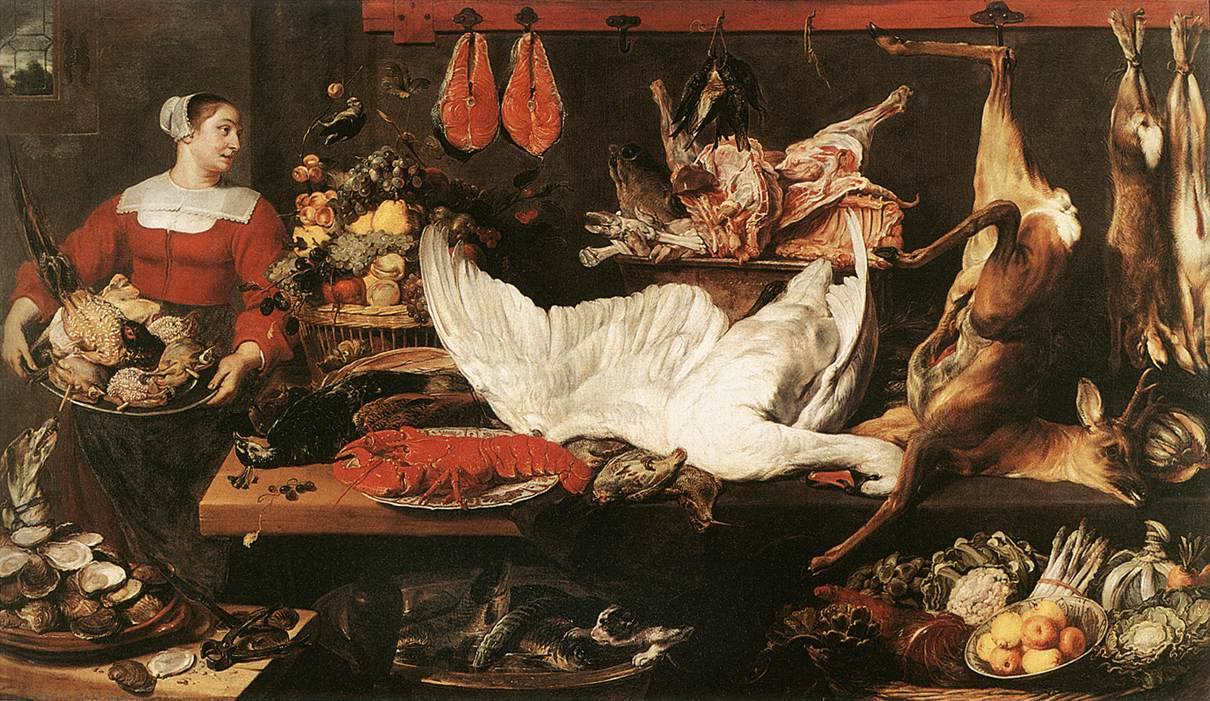 The Pantry Muses Royaux Des Beaux Arts Brussels | Frans Snyders | Oil Painting