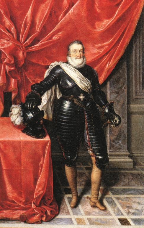 Henry IV King Of France In Armour | Frans The Elder Pourbus | Oil Painting