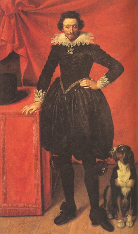 Portrait Of Claude De Lorrain Prince Of Chevreuse 1610 | Frans The Elder Pourbus | Oil Painting