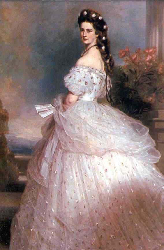 Empress Elisabeth | Franz Xaver Winterhalter | Oil Painting