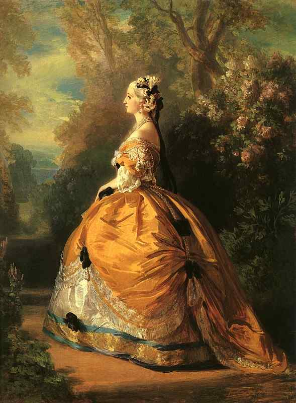 Empress Eugenie 1854 | Franz Xaver Winterhalter | Oil Painting