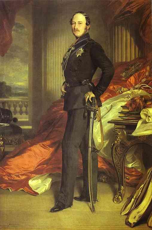 Prince Albert 1859 | Franz Xaver Winterhalter | Oil Painting