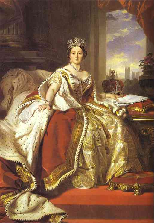 Queen Victoria 1859 | Franz Xaver Winterhalter | Oil Painting