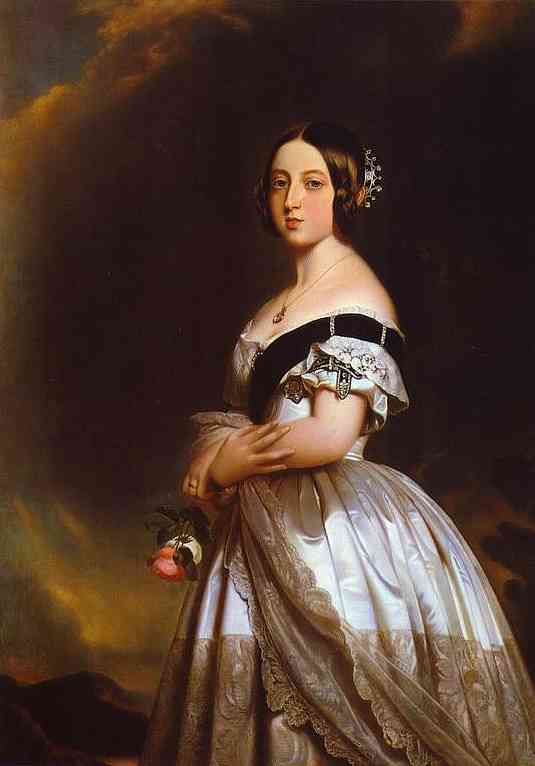 Studio Of Winterhalter Queen Victoria 1842 | Franz Xaver Winterhalter | Oil Painting