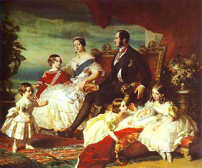 The Family Of Queen Victoria 1846 | Franz Xaver Winterhalter | Oil Painting