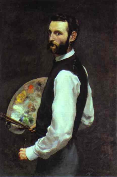 Self Portrait 1865-1866 | Frederic Bazzille | Oil Painting