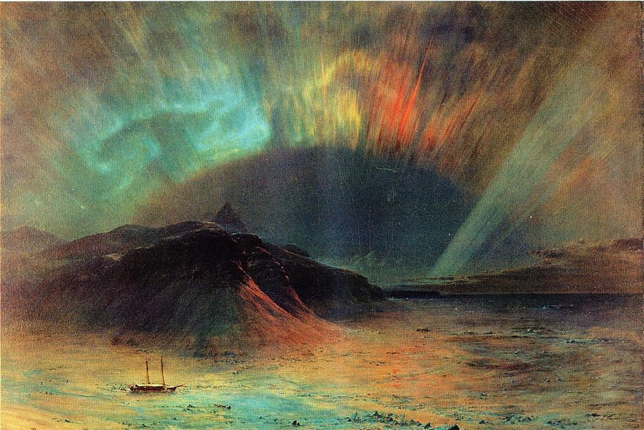 Aurora Borealis 1865 | Frederic Edwin Church | Oil Painting