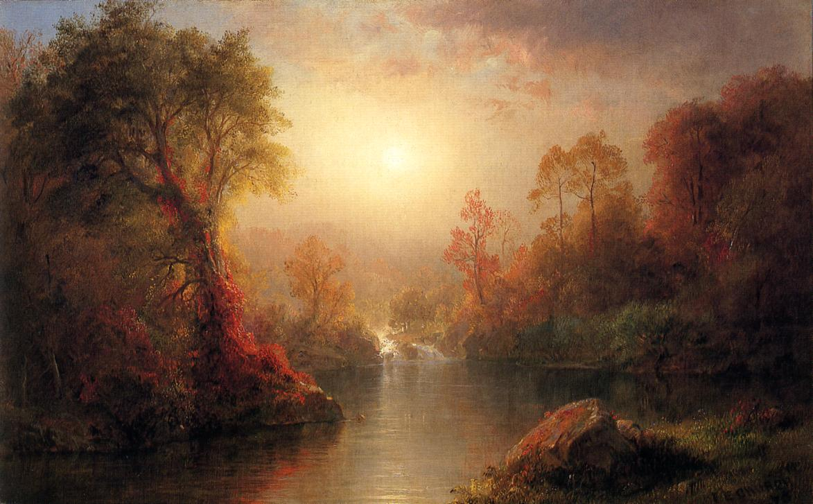Autumn 1875 | Frederic Edwin Church | Oil Painting
