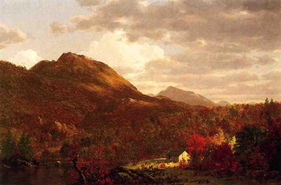 Autumn on the Hudson 1853 | Frederic Edwin Church | Oil Painting