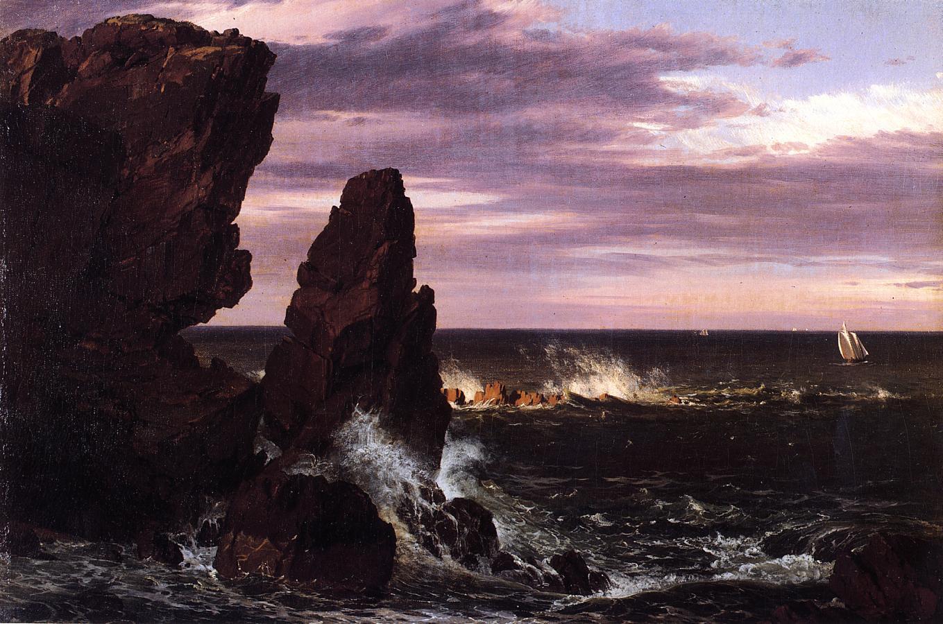 Coast Scene 1852 | Frederic Edwin Church | Oil Painting