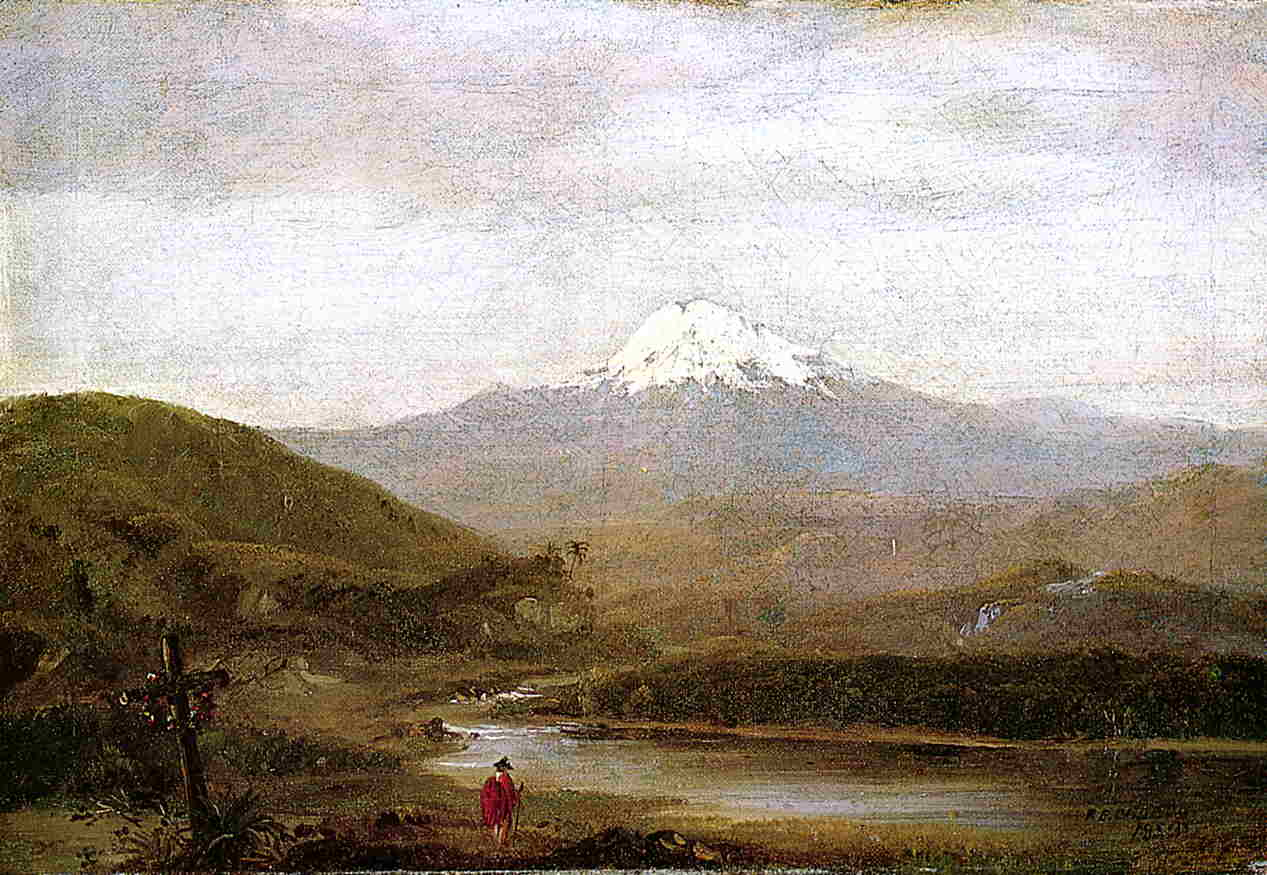Cotopaxi 1853 | Frederic Edwin Church | Oil Painting