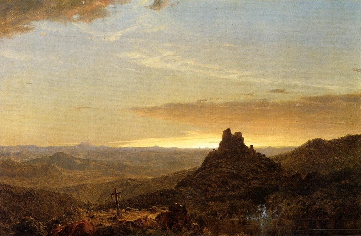 Cross in the Wilderness 1857 | Frederic Edwin Church | Oil Painting