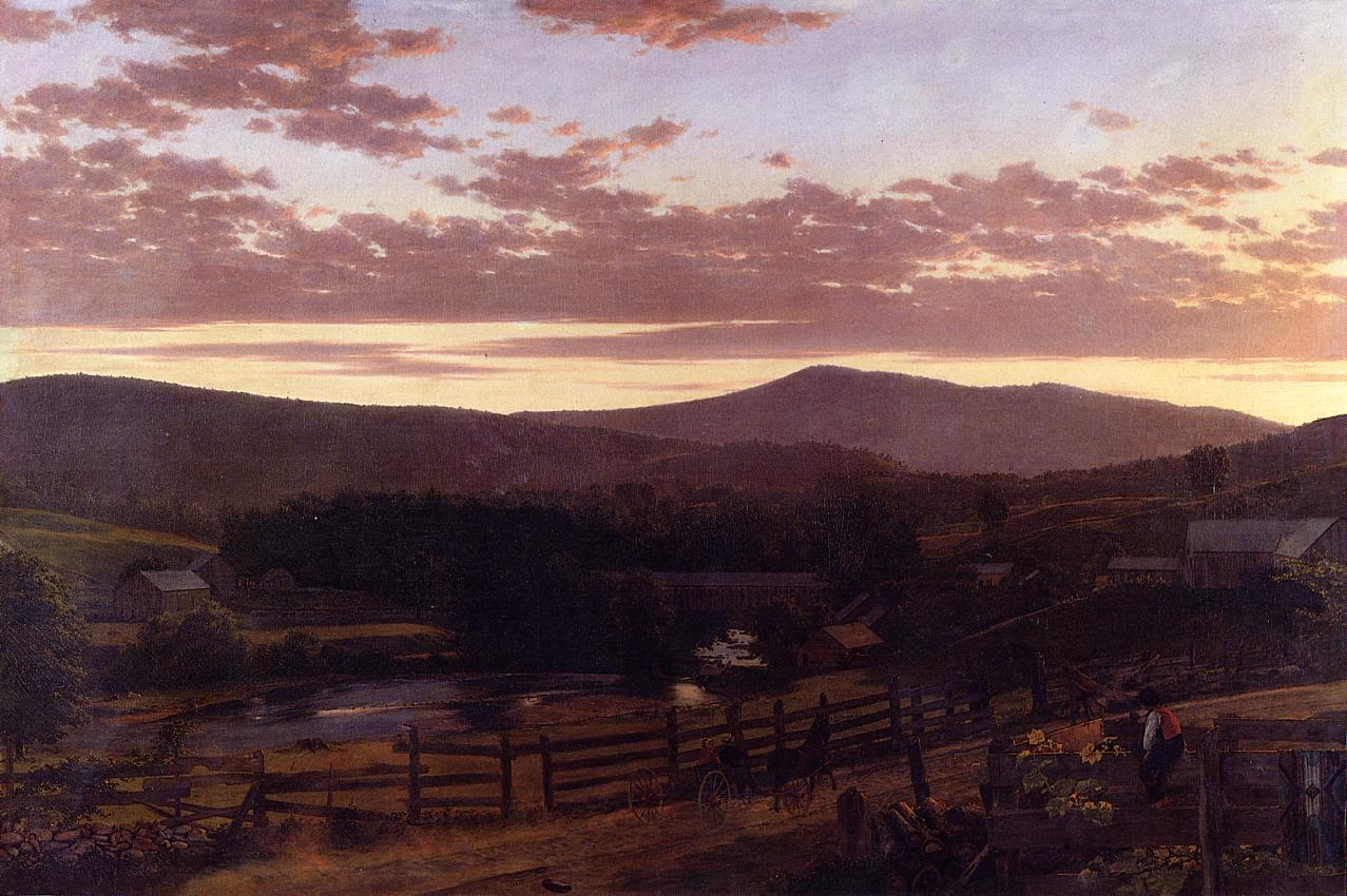 Ira Mountain Vermont 1849-1850 | Frederic Edwin Church | Oil Painting
